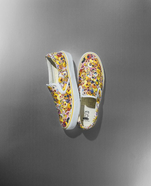 Художник Такаси Мураками создал коллекцию для Vans. Изображение № 6.