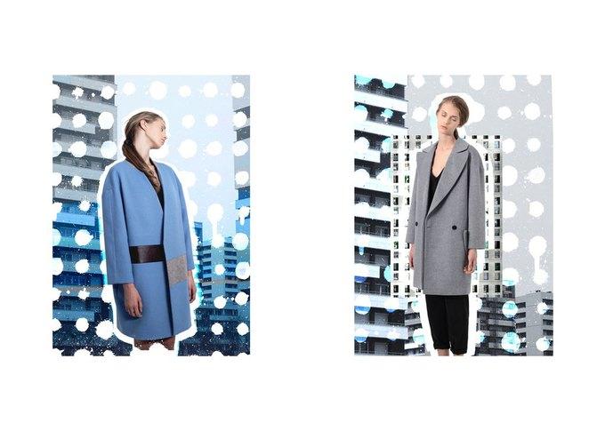 Объемные пальто в новой коллекции Luda Nikishina. Изображение № 6.