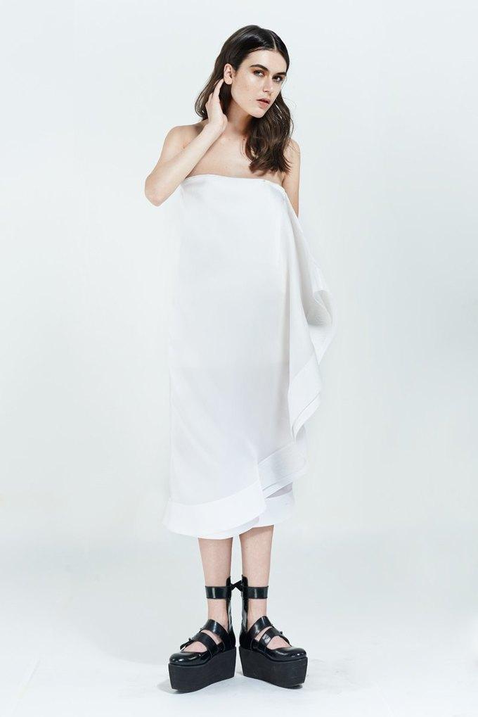 Белый и пейсли в новой коллекции Bessarion. Изображение № 10.