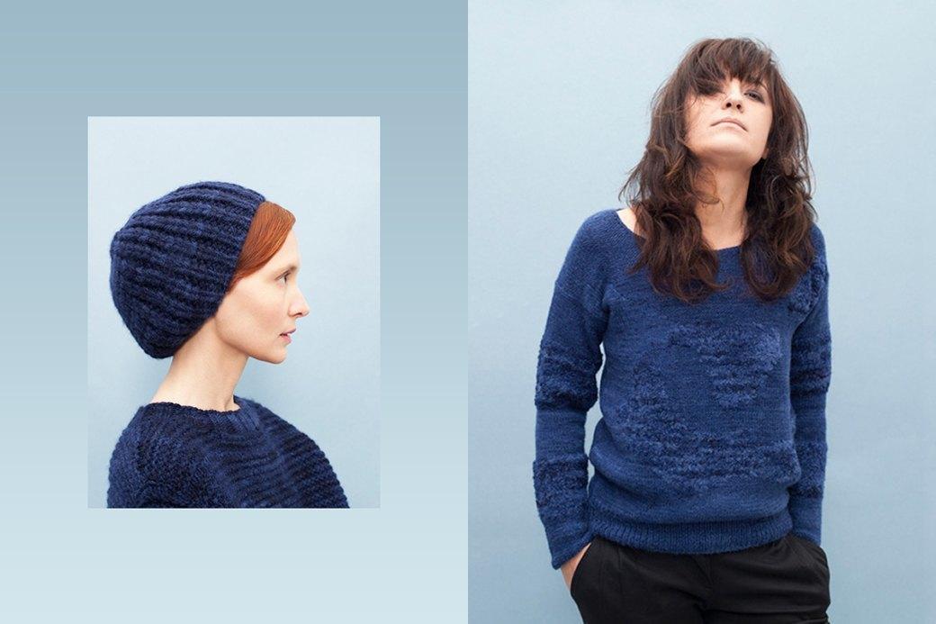 Теплые шерстяные свитеры, шапки и платья Knitbrary. Изображение № 2.