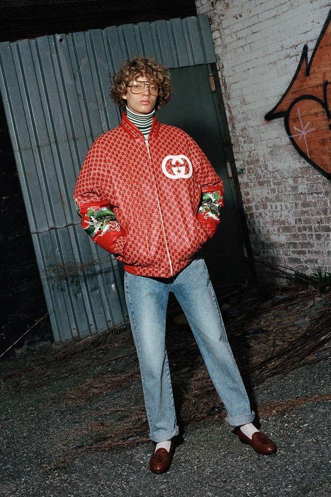 Gucci показали коллаб с дизайнером Дэппер Дэном. Изображение № 14.