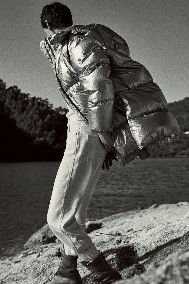 Кашемир, фланель и трикотаж в новой коллекции Massimo Dutti