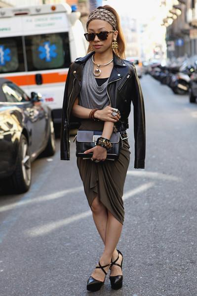 Milan Fashion Week: Уличный стиль, день 2. Изображение № 2.