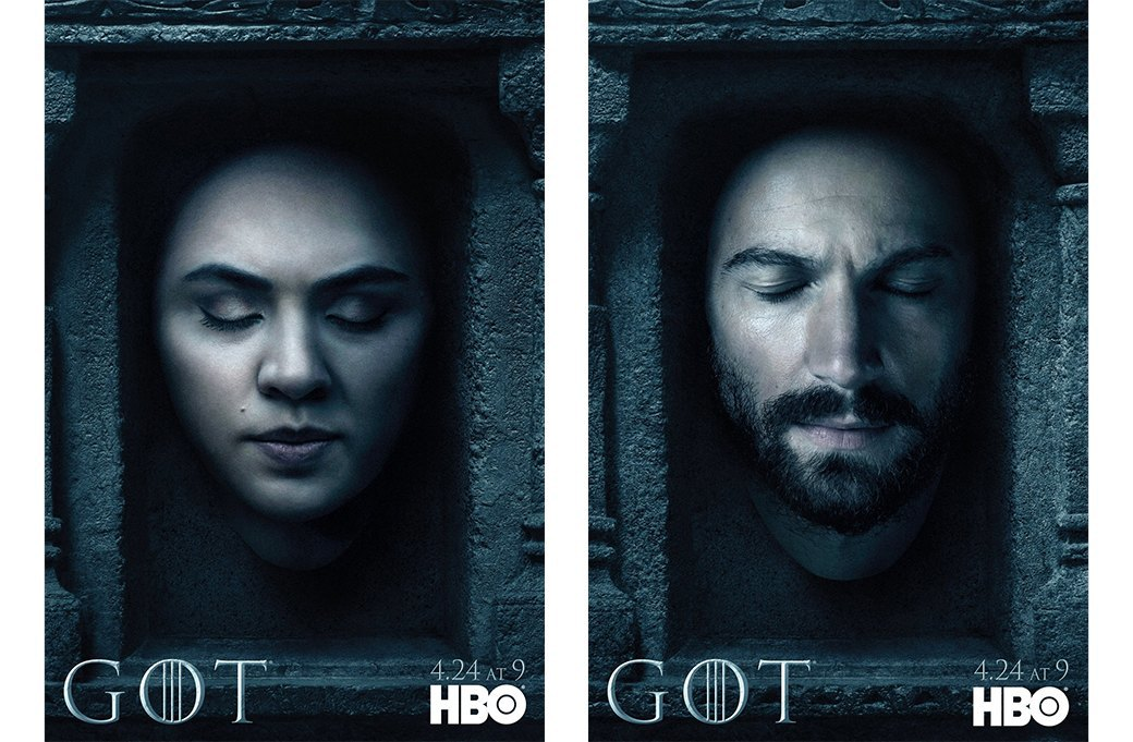 Постеры с героями «Игры престолов» к новому сезону. Изображение № 2.