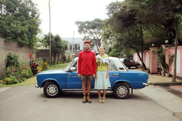Фотография Ольги и Никиты из альбома проекта «Goodbye Normals». Изображение № 1.