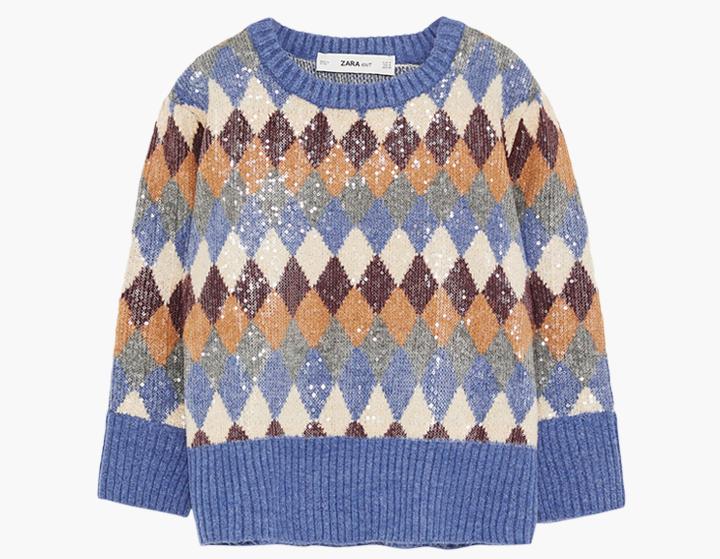 Пора утепляться: 10 свитеров с ярким принтом. Изображение № 7.