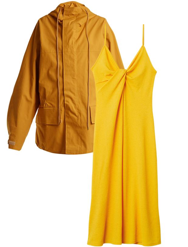 Комбо: Ветровка с летним платьем. Изображение № 2.