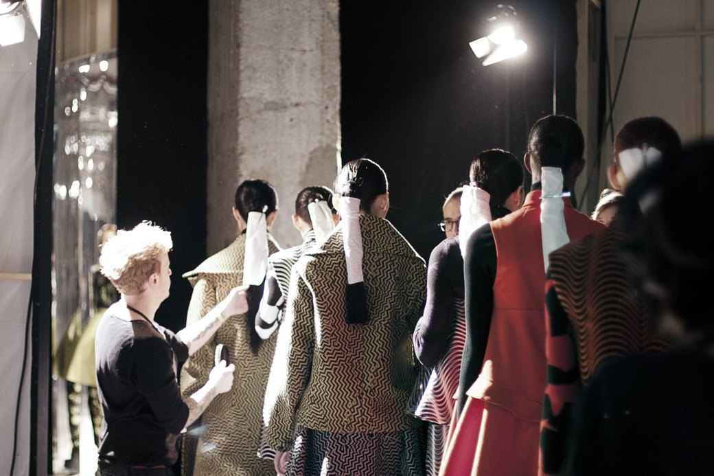 Paris Fashion Week FW 14: Бэкстейдж показа Kenzo. Изображение № 13.