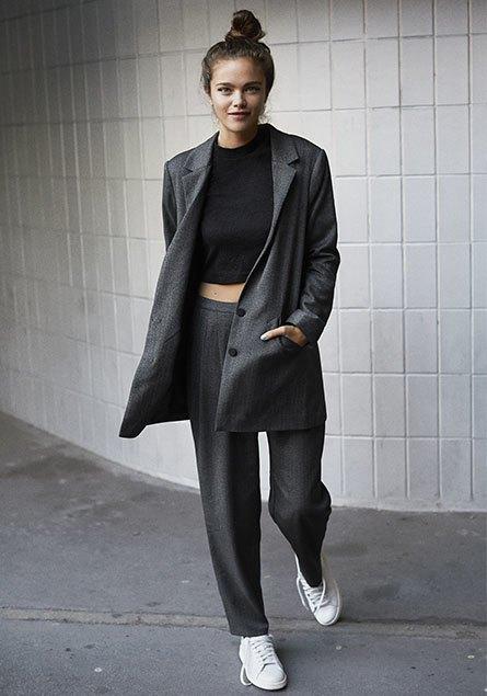 Модель: Джена Голдсах (Models1), стиль: Александра Карл, фото: Эрик Вольстрём   . Изображение № 6.