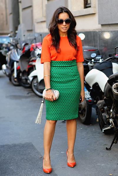 Milan Fashion Week: Уличный стиль, день 2. Изображение № 4.