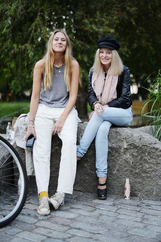 Парни в криперах и девушки в шортах на Неделе моды в Стокгольме . Изображение № 39.