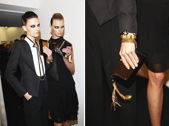 Gucci SS 2012: Репортаж с бэкстейджа. Изображение № 57.