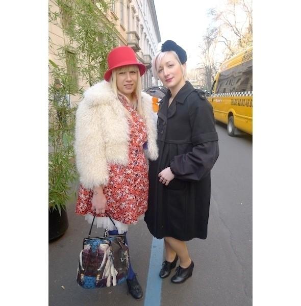 Milan Fashion Week: день второй — луки. Изображение № 8.