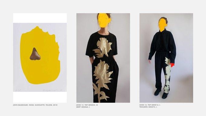 Лукбук Nina Donis, вдохновлённый полотнами Джона Балдессари. Изображение № 8.