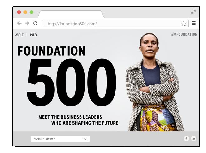 В закладки: Проект H&M о женщинах в бизнесе, за которыми будущее. Изображение № 1.