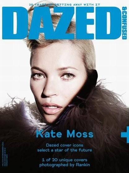 Кейт Мосс на одной из двадцати юбилейных обложке Dazed & Confused. Изображение № 6.