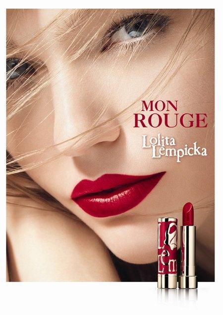 Саша Пивоварова в рекламе линии Mon Rouge Lolita Lempicka. Изображение № 3.