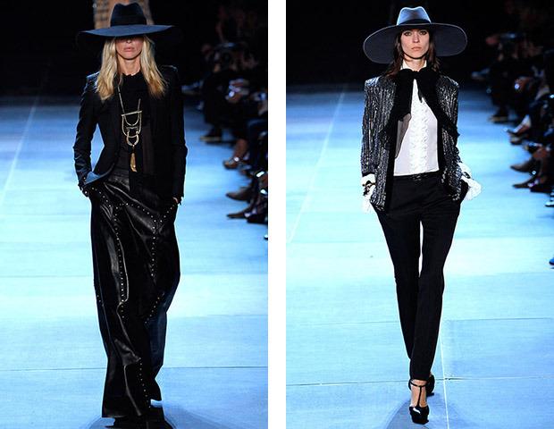Парижская неделя моды: Показы Stella McCartney, Chloe, Saint Laurent, Giambattista Valli. Изображение № 34.