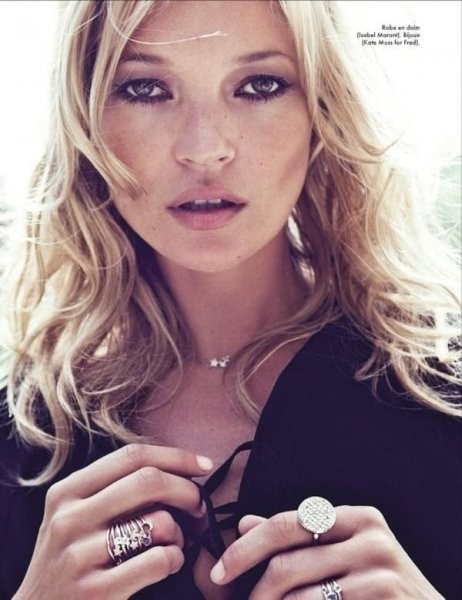 Кейт Мосс в съёмке французского Elle, октябрь 2011. Изображение № 32.