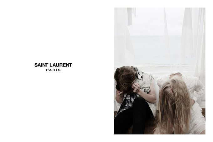 Звезда «Любви» Гаспара Ноэ и сын Килмера снялись в рекламе Saint Laurent. Изображение № 22.