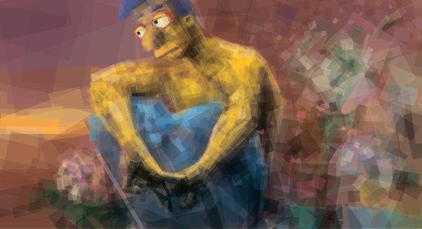 «Демон» Врубеля в версии Миши Голева . Изображение № 5.