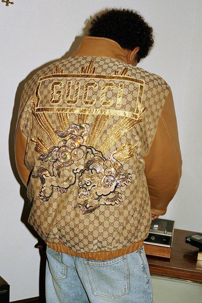Gucci показали коллаб с дизайнером Дэппер Дэном. Изображение № 43.