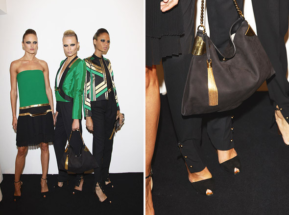 Gucci SS 2012: Репортаж с бэкстейджа. Изображение № 48.