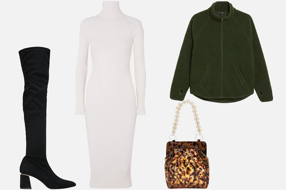 Что носить осенью: 8 комфортных образов с трикотажем