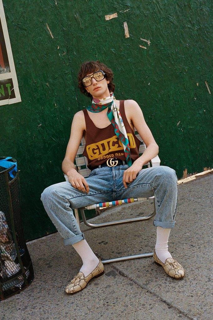 Gucci показали коллаб с дизайнером Дэппер Дэном. Изображение № 12.