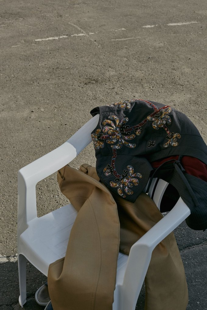 Лукбук J.Kim, вдохновлённый южнокорейскими ныряльщицами. Изображение № 17.
