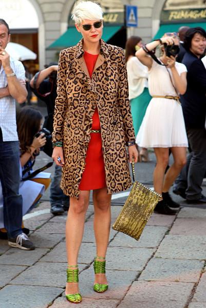 Milan Fashion Week: Уличный стиль, день 1. Изображение № 13.