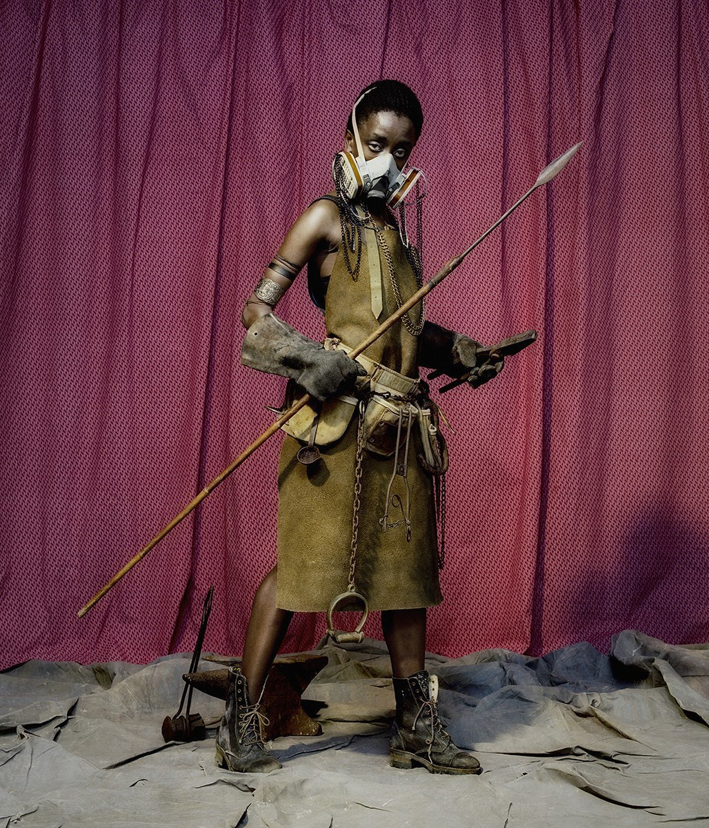 «NKOSOZANA»:  Фантастические принцессы Африки. Изображение № 8.