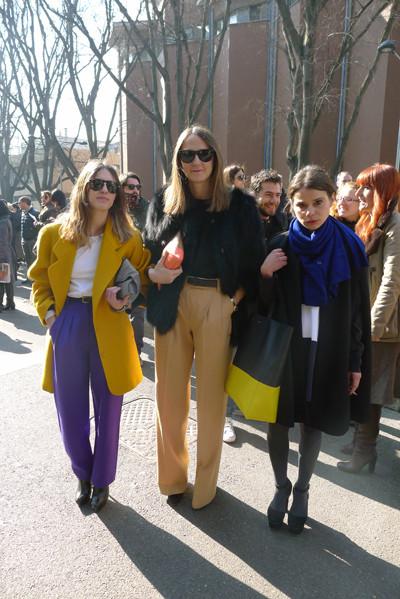 Milan Fashion Week: день третий – луки. Изображение № 8.