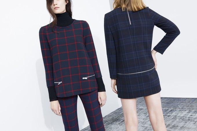Леопардовые шубы и платья-сорочки в новой коллекции Zara. Изображение № 5.