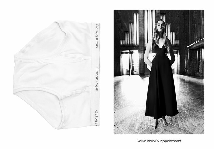 Милли Бобби Браун снялась в кампании Calvin Klein. Изображение № 6.