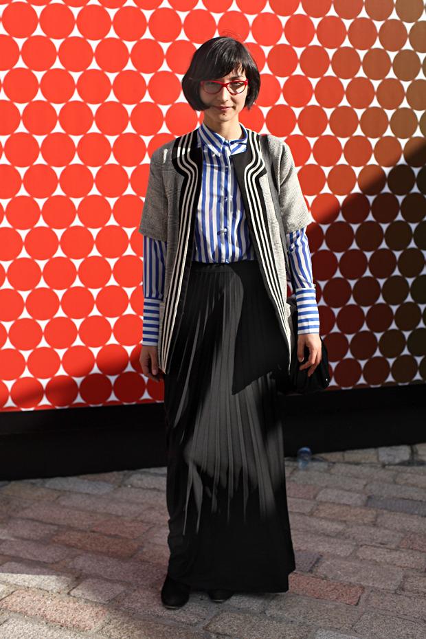 Streetstyle: Неделя моды в Лондоне, часть 1. Изображение № 41.