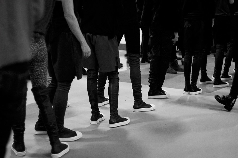 Paris Fashion Week FW 14: Бэкстейдж показа Rick Owens. Изображение № 5.