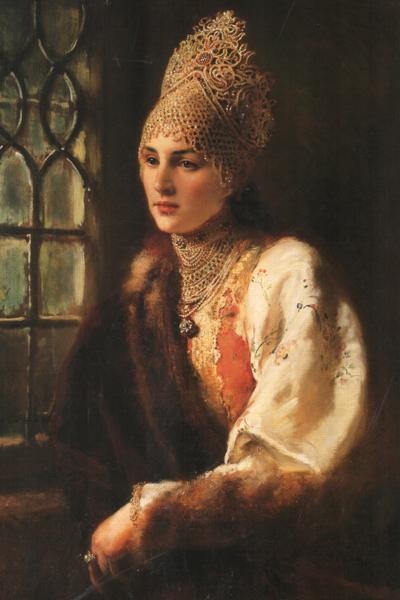 Кокошник: История «запретной женственности». Изображение № 6.