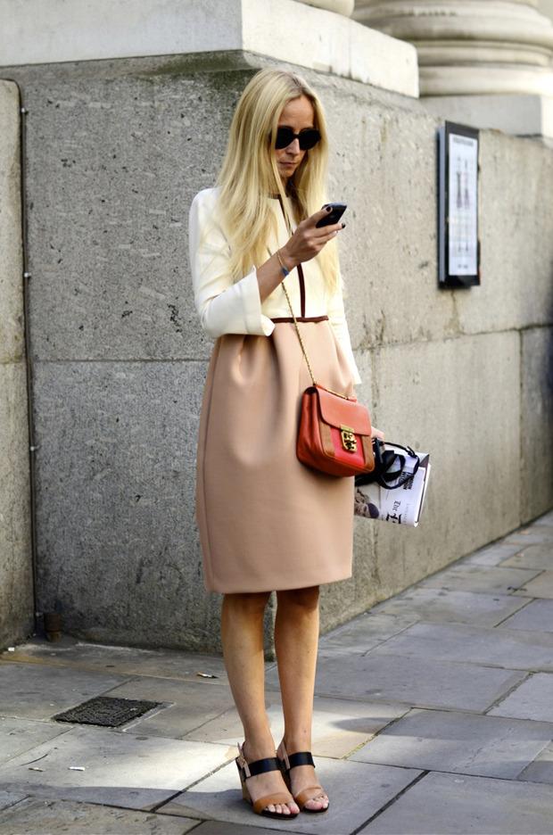 Streetstyle: Неделя моды в Лондоне, часть 2. Изображение № 24.