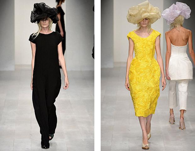 Неделя моды в Лондоне: Показы Issa, Holly Fulton, House of Holland, John Rocha и Moschino. Изображение № 31.