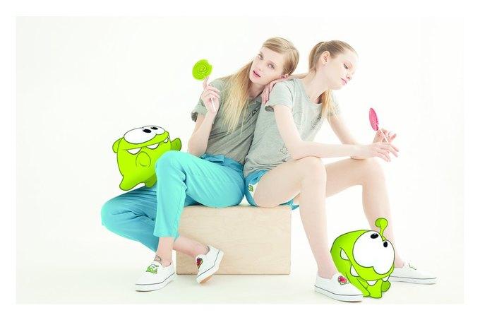 Trends Brands сделали совместную коллекцию с игрой Cut the Rope. Изображение № 2.