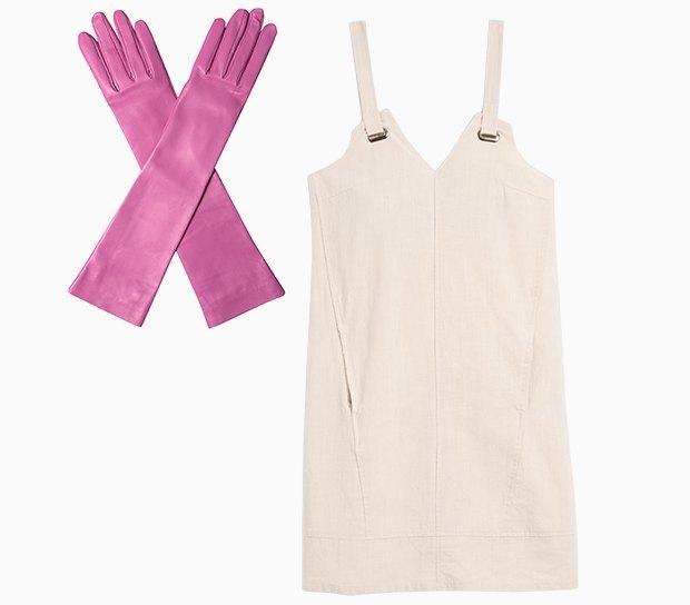 Комбо: Длинные перчатки сплатьем. Изображение № 1.