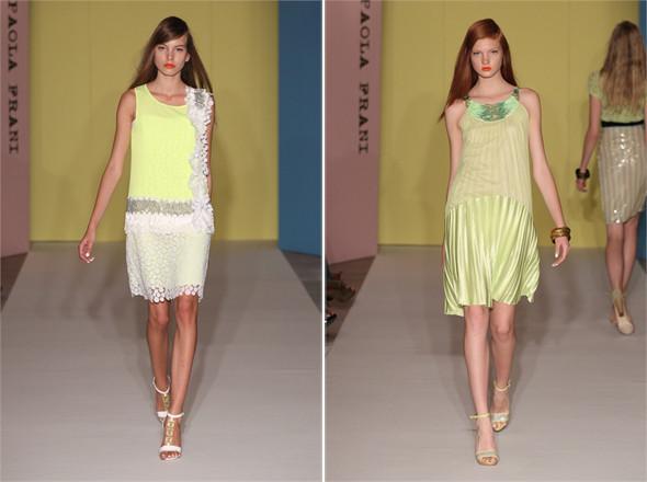 Показы на Milan Fashion Week SS 2012: День 1. Изображение № 4.