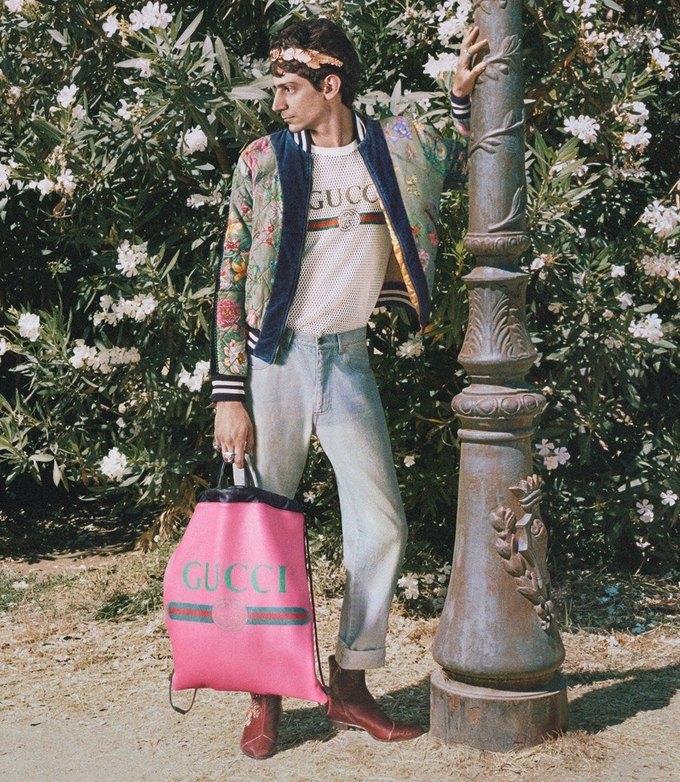Gucci выпустили кампанию с моделями разных возрастов. Изображение № 12.
