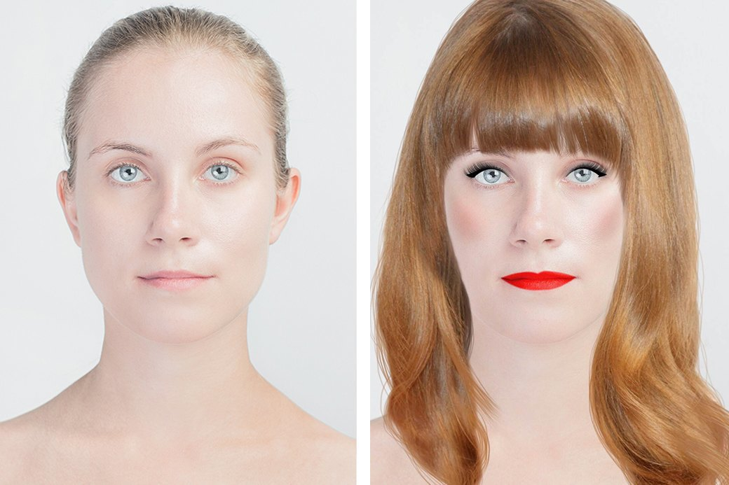До и после макияжа:  Редакция тестирует  бьюти-приложения. Изображение № 21.