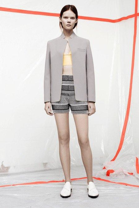 Кожаные толстовки и брюки в коллекции T by Alexander Wang. Изображение № 5.