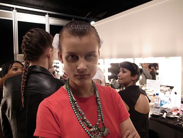 London Fashion Week: Бэкстейдж Danielle Scutt. Изображение № 13.