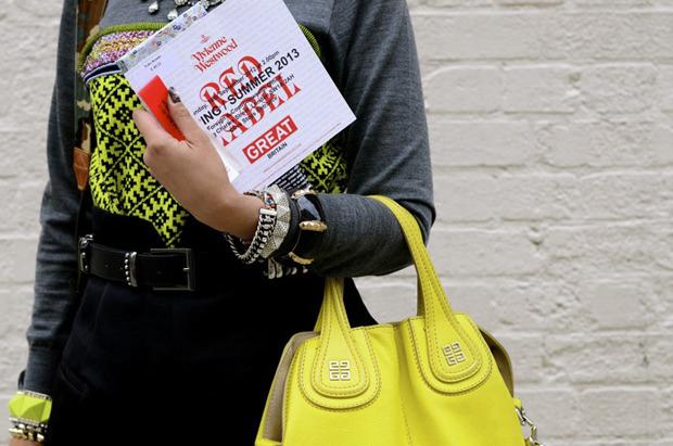 Streetstyle: Неделя моды в Лондоне, часть 2. Изображение № 19.