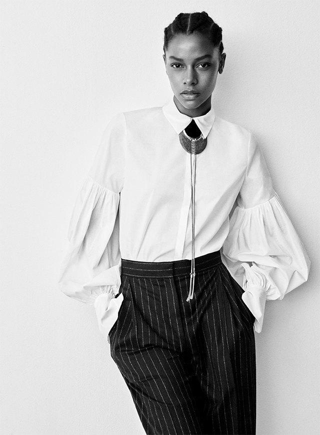 Плюс-сайз-модель Эшли Грэхэм стала лицом коллекции H&M Studio. Изображение № 9.