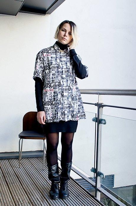 Даша Сельянова,  дизайнер марки ZDDZ. Изображение № 3.